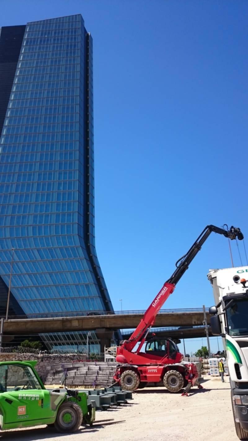 "chantier en pleine ville ""La marseillaise"""