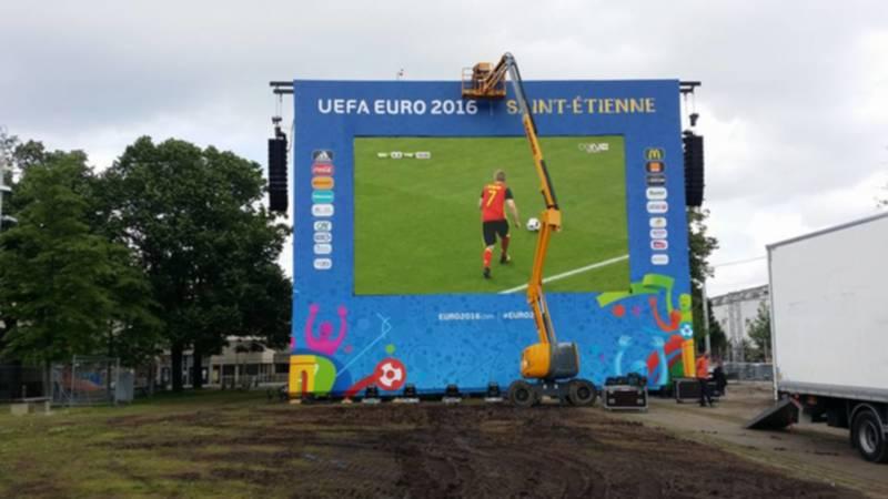 Euro 2016 fan zone Saint Etienne